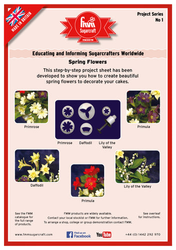 FMM Spring Flowers Project Sheet