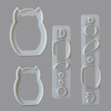 Load image into Gallery viewer, Mummy & Baby Owl Cutter Set