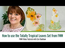 Load and play video in Gallery viewer, Totally Tropical Leaves Cutter Set