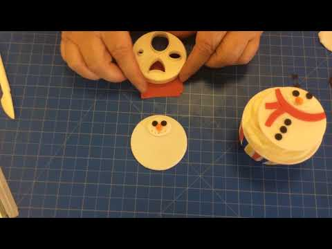 FMM Mix N Match Faces Cutter to make Christmas Faces