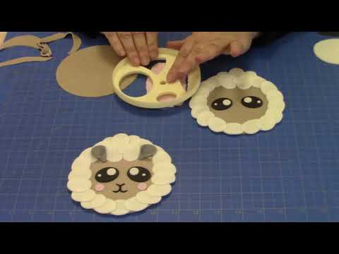 Make Sheep using the FMM Mix 'n' Match Large Face Cutter