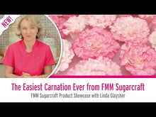 Load and play video in Gallery viewer, The Easiest Carnation Ever Tutorial by FMM Sugarcraft