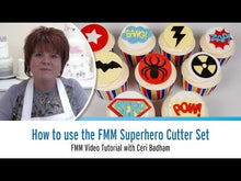 Load and play video in Gallery viewer, How to Use the FMM Superhero Cutter Set