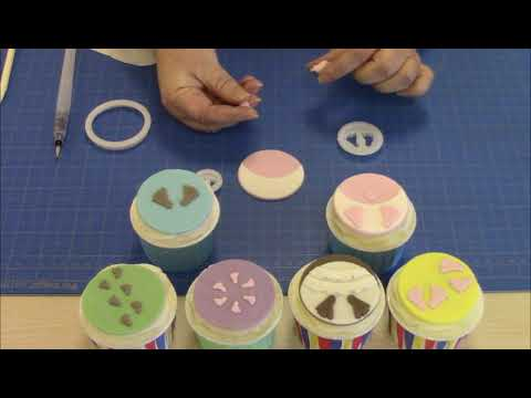 How to Use the FMM Sugarcraft Baby Feet Cutter Set