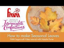 Load and play video in Gallery viewer, How to use the FMM Seasonal Leaves with Natalie Porter