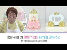 Load and play video in Gallery viewer, Princess Carriage Cutter Set