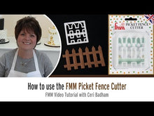 Load and play video in Gallery viewer, How to use the FMM Picket Fence Cutter