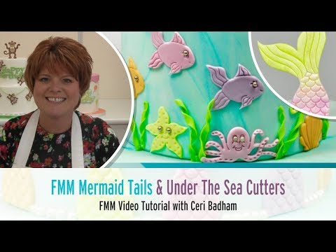 How to use the FMM Mermaid Tails Under The Sea Cutter Set Tutorial