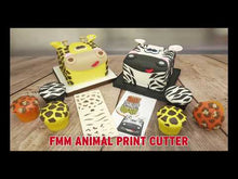 Load and play video in Gallery viewer, Animal Print Cutter
