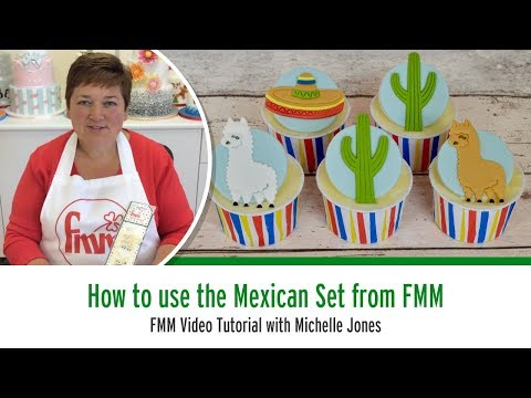 How to use the FMM Mexican Cutter Set
