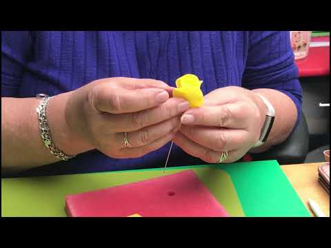 Make a Rose Using FMM 5 Petal Rose Cutters