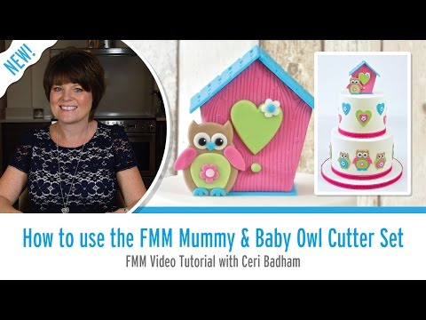 How to Use the FMM Mummy & Baby Owl Cutter Set