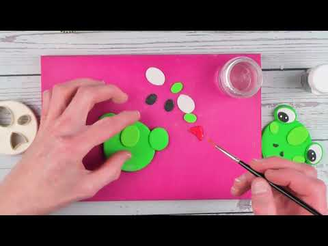 Cute Frog Using the FMM Mix N Match Face Cutter