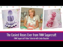 Load and play video in Gallery viewer, The Easiest Rose Ever Tutorial from FMM Sugarcraft