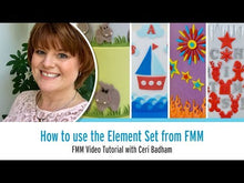Load and play video in Gallery viewer, How to use the Elements Set from FMM Sugarcraft