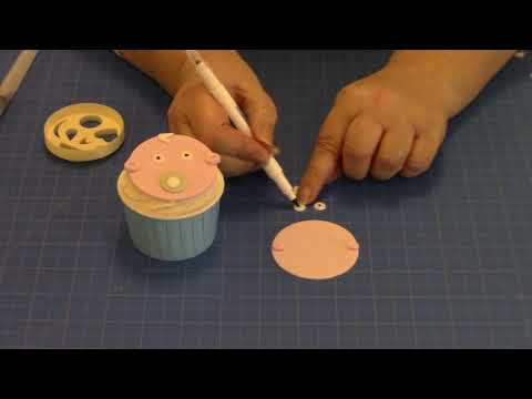 Cute Baby Face Using the Funny Faces and More Cutter Tutorial