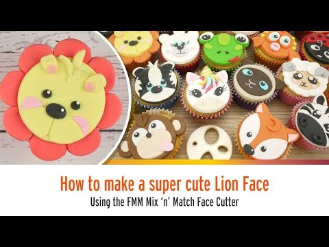 Cute Lion Face Using the FMM Mix n Match Face Cutter