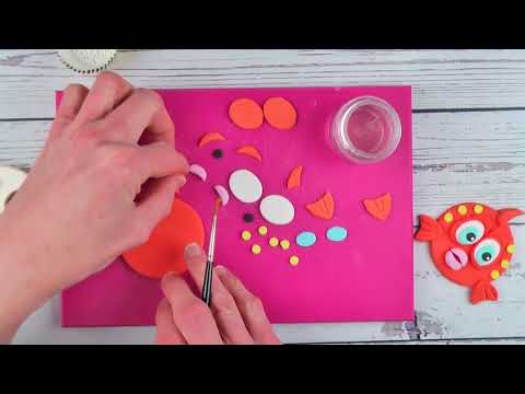 Cute Fish Faces using the Mix N Match Faces Cutter Tutorial