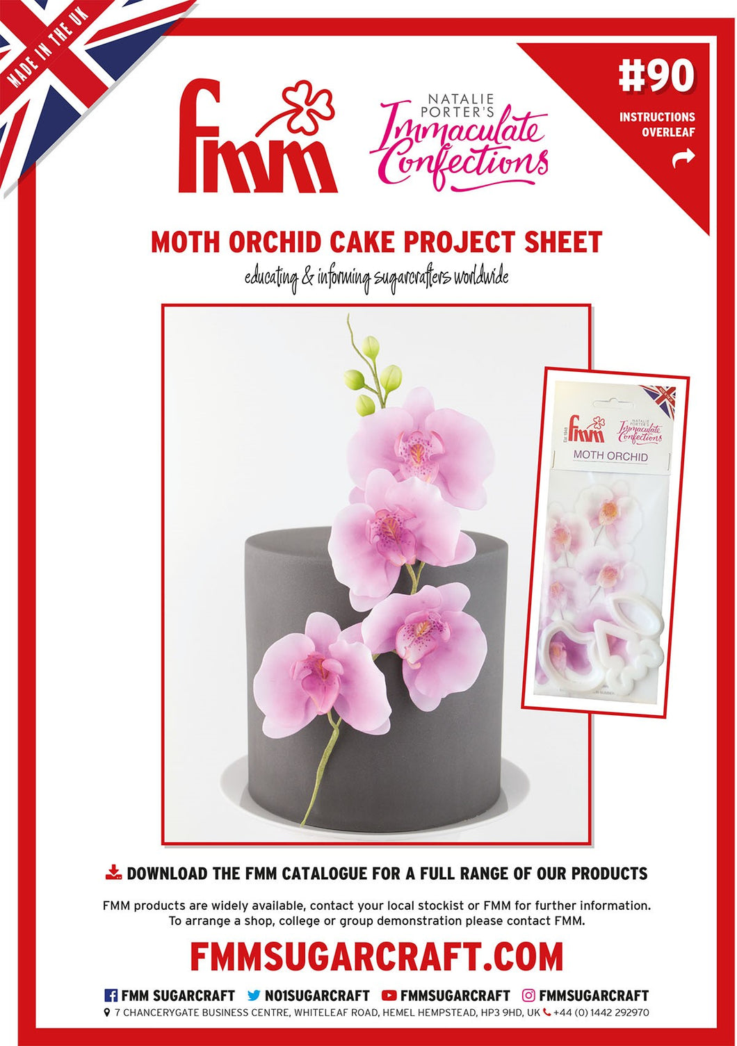 FMM Moth Orchid Project Sheet
