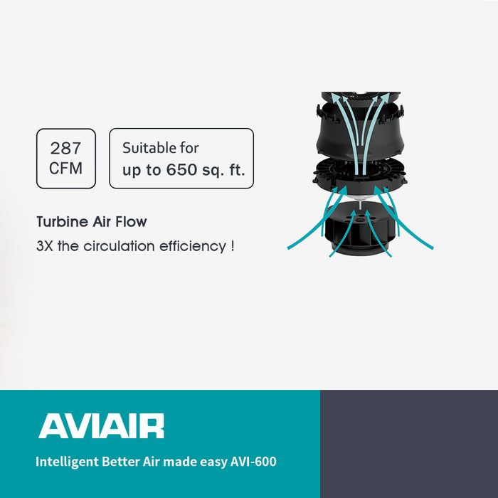 Intelligent Better Air made easy AVI-600