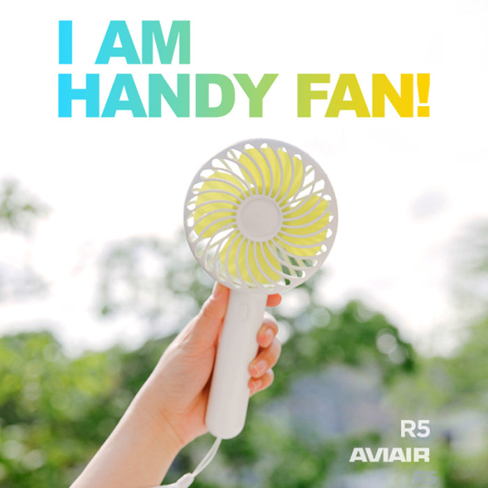 Aviair Handy Fan With Tabletop Station R5
