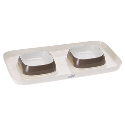 GLAM TRAY EXTRA SMALL / Dove gray Ferplast
