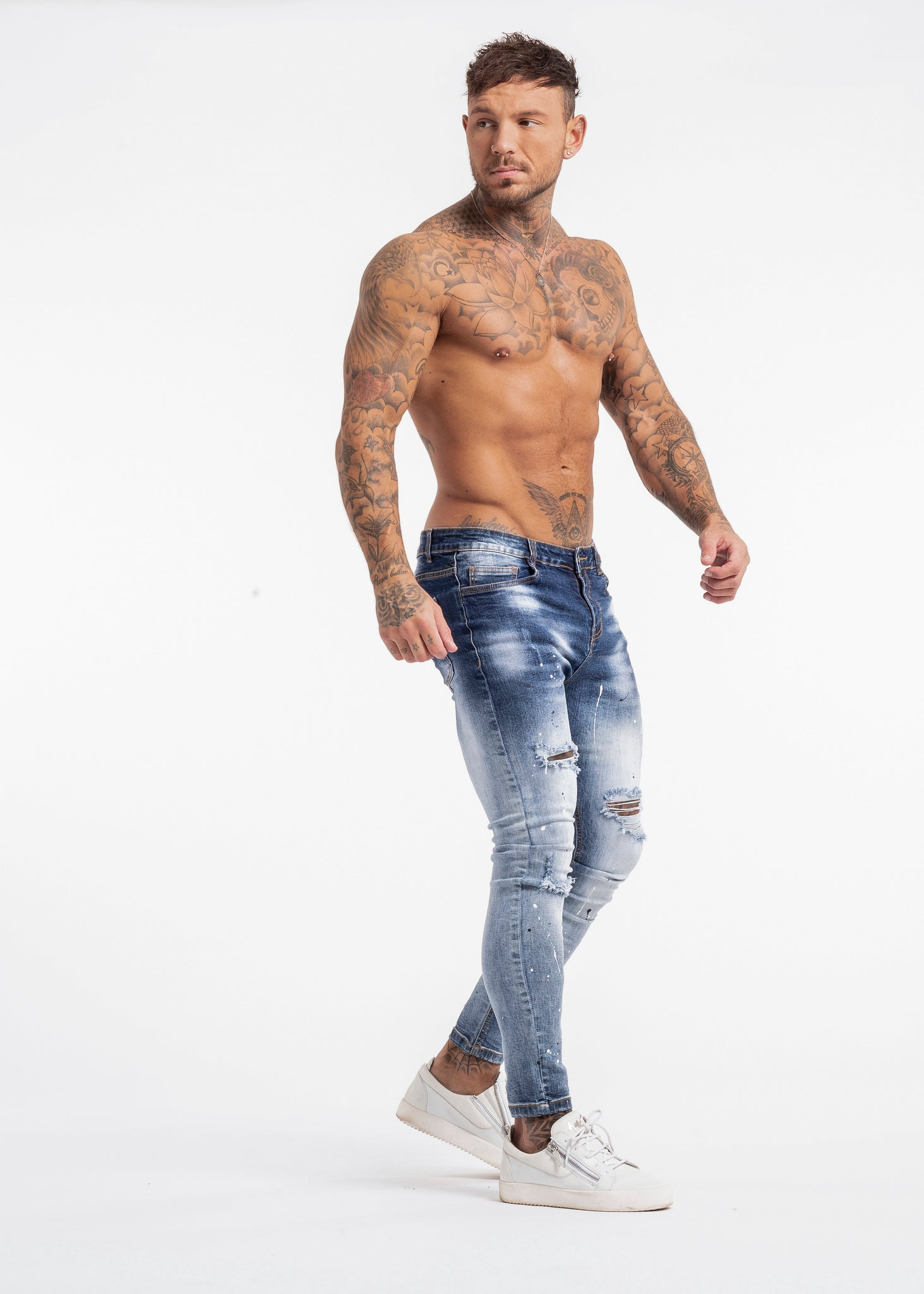 INSIGNE JEANS DARK CRYSTAL BLUE