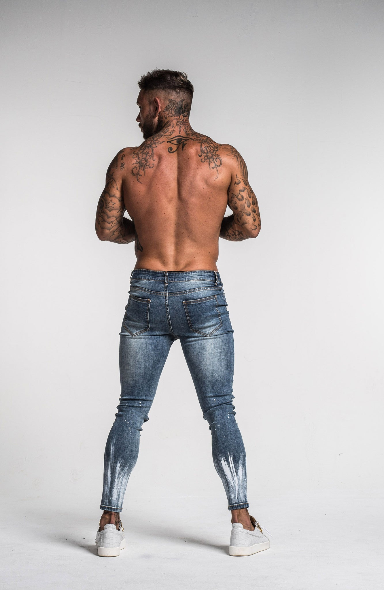 VELOCITY JEANS FADED BLUE