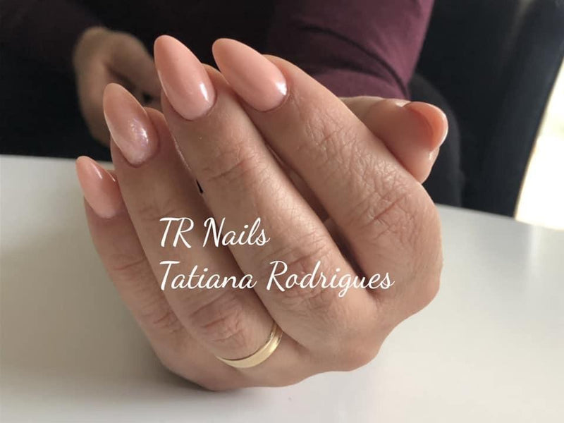 Gel Polish Glitter Nude