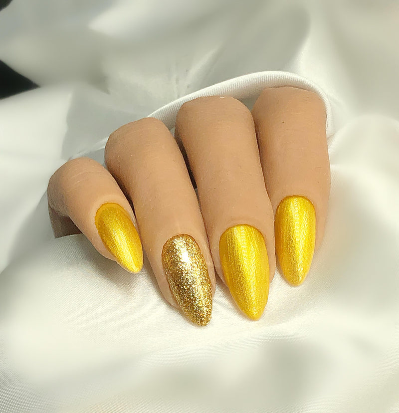 Gel Polish Crystal Gold