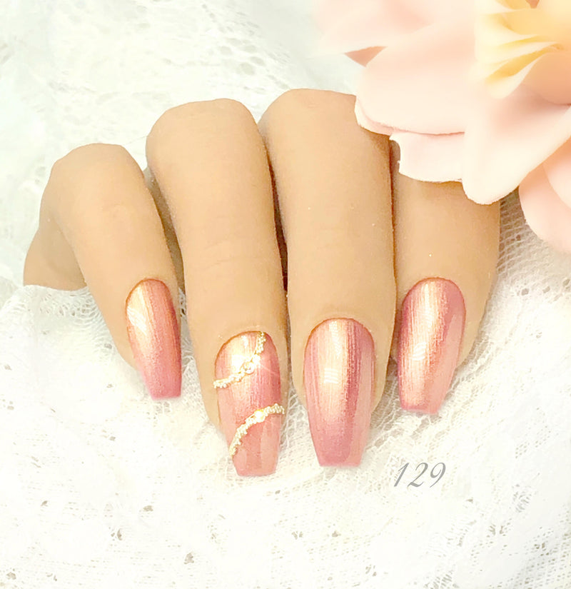 Gel Polish Champagne Shine