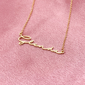 GRATIFY NAME NECKLACE