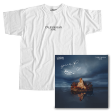 Load image into Gallery viewer, Californian Soil Tee + Signed Album