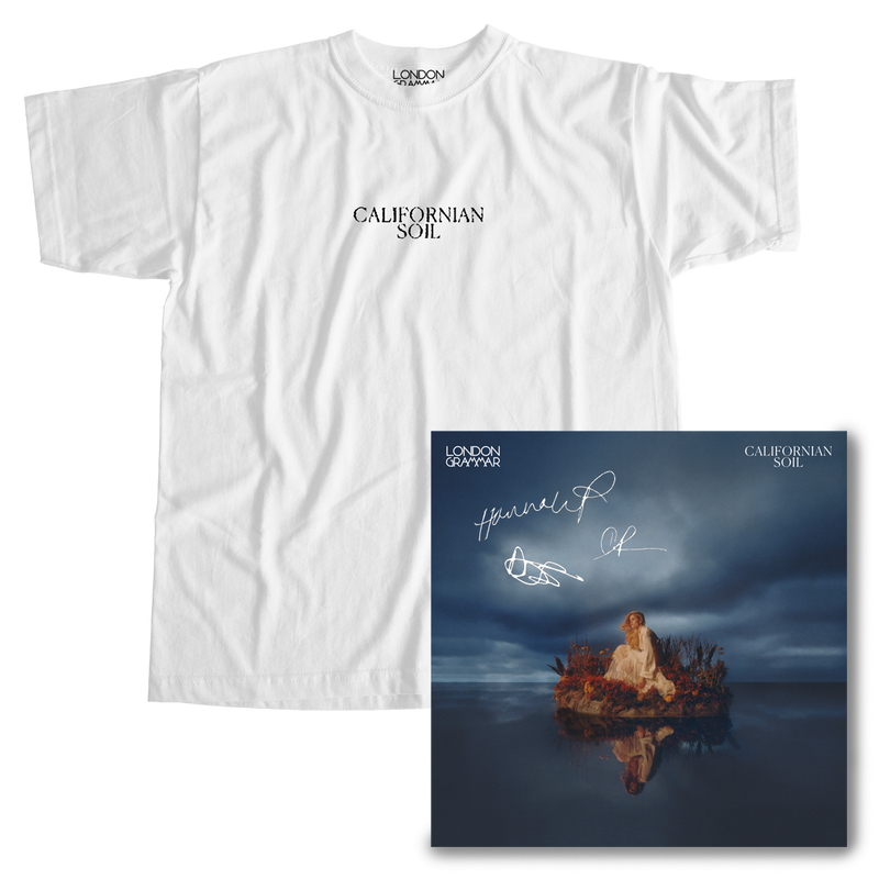 Californian Soil Tee + Signed Album