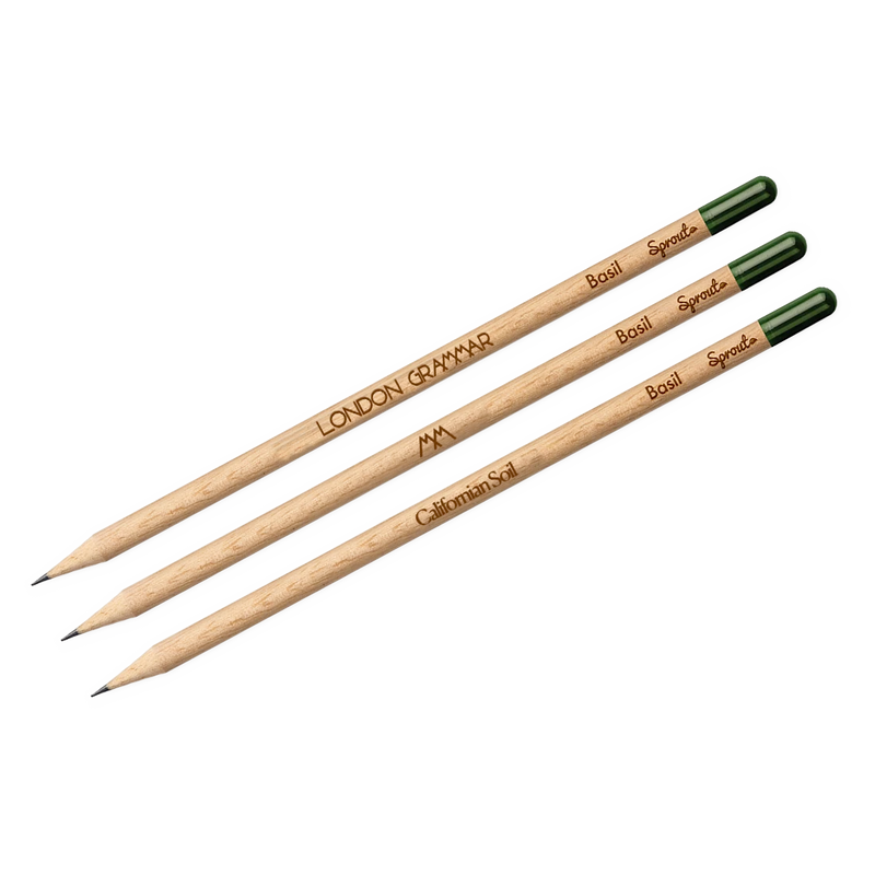 Californian Soil Plantable Pencils