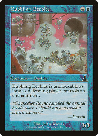 Bubbling Beebles [Urza's Destiny] | Games A Plunder