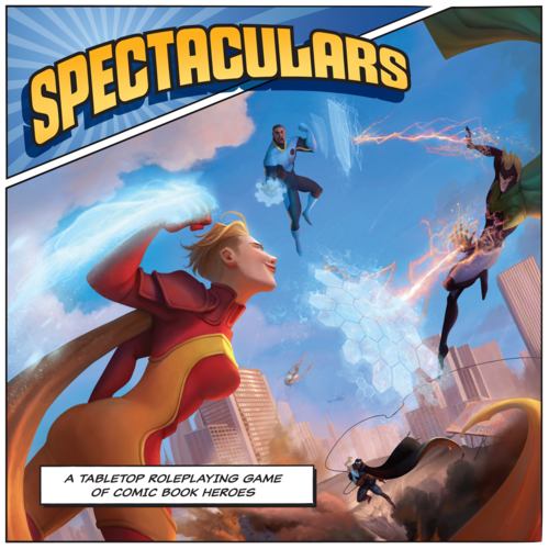 Spectaculars - A Tabletop Roleplaying Game of Comic Book Heroes | Games A Plunder