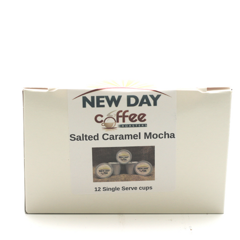 Salted Caramel Mocha - 12 Cup Single Serve