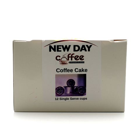 Coffee Cake - 12 Cup Single Serve
