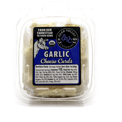 Garlic Cheese Curds