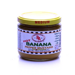 Hot Banana Pepper Mustard
