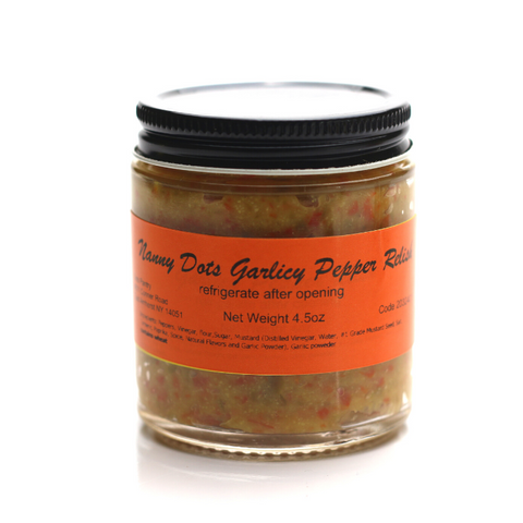 Nanny Dot's Garlicy Pepper Relish