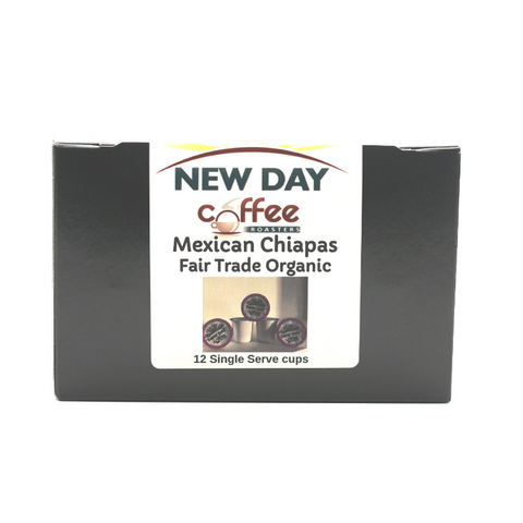 Mexican Chiapas Fair Trade Organic - 12 Cup Single Serve
