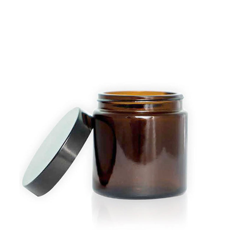 COMANDANTE – GLASS BEAN - 4 JARS - BROWN