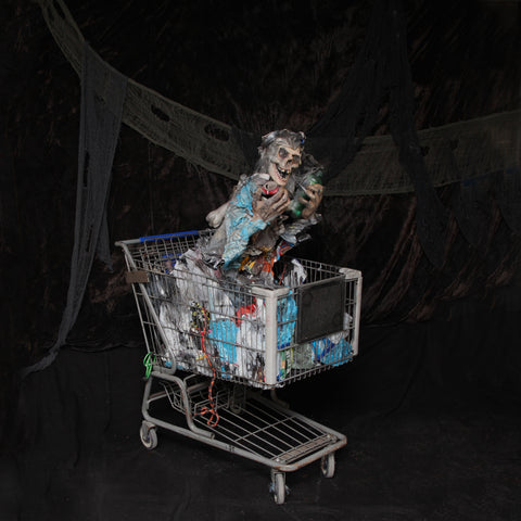Zombie in Shopping cart
