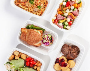 Hot Lunch Ideas for School Collection - 8 Lunches / Week