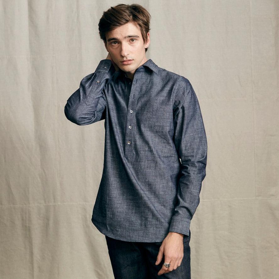 Overshirt Light Denim