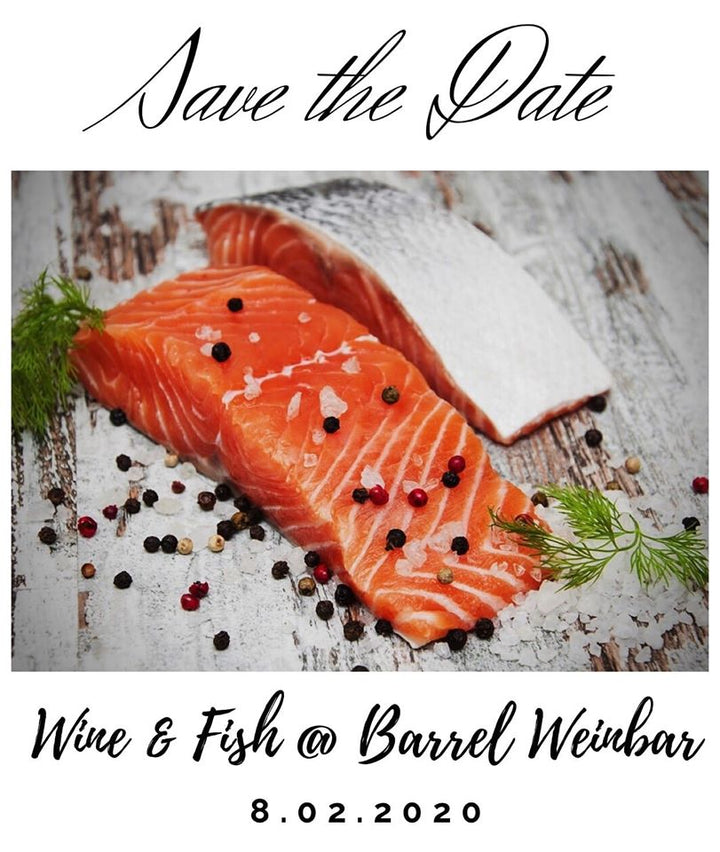Wine & Fish am 08. Februar 2020