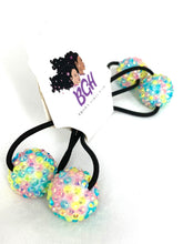 Load image into Gallery viewer, Bling Confetti Hair Ballies | Hair Knockers Bobbles