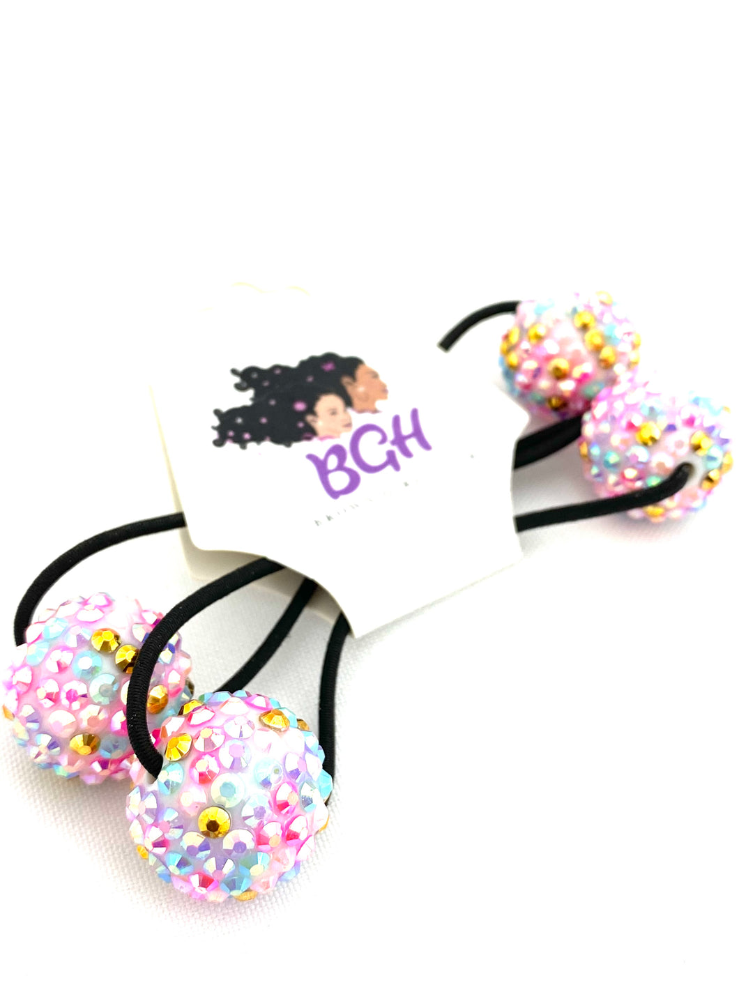 Bling Confetti Hair Ballies | Hair Knockers Bobbles